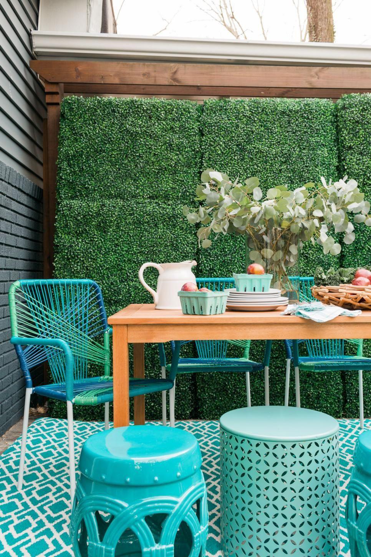 trang trí không gian ăn uống ngoài trời đẹp 7
