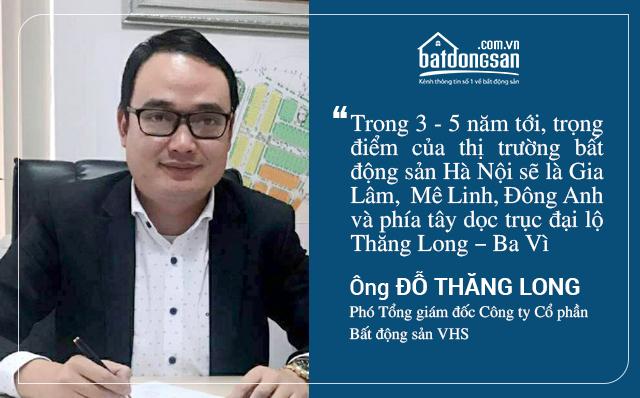 5 năm tới, khu vực nào sẽ là điểm nóng của bất động sản Hà Nội?