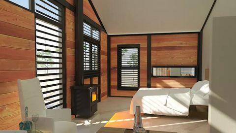 Phòng ngủ tường thép