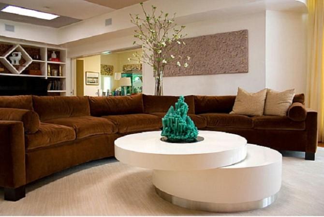 đặt đá phong thủy tại phòng khách