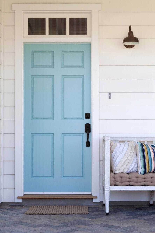 Những gam màu tươi mới cho cửa nhà