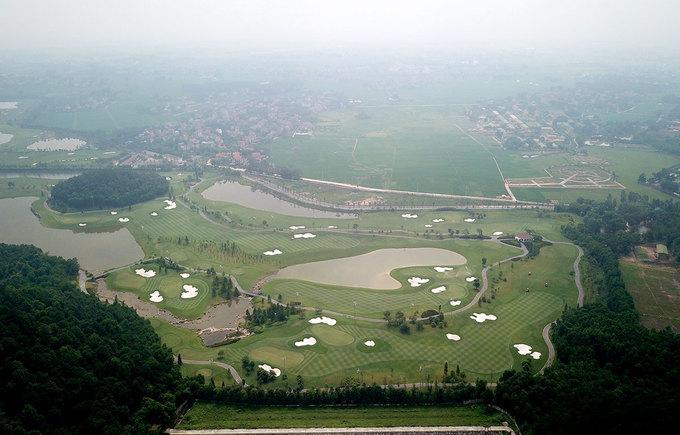sân golf núi Sóc