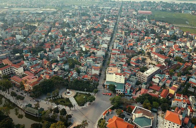 khu đô thị vệ tinh Sơn Tây