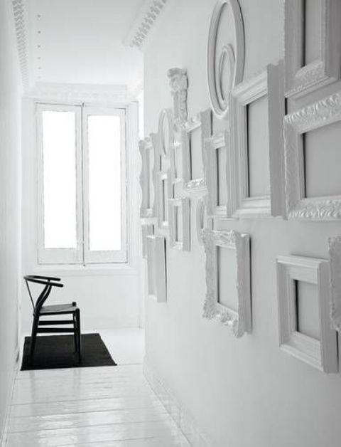 nhà màu trắng