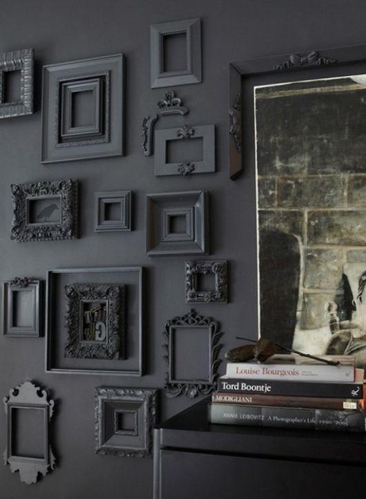 trang trí nhà tối màu