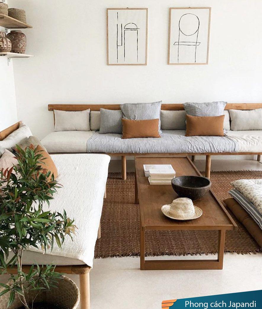 Phong cách Japandi tối giản nhưng hết sức thanh lịch, hiện đại