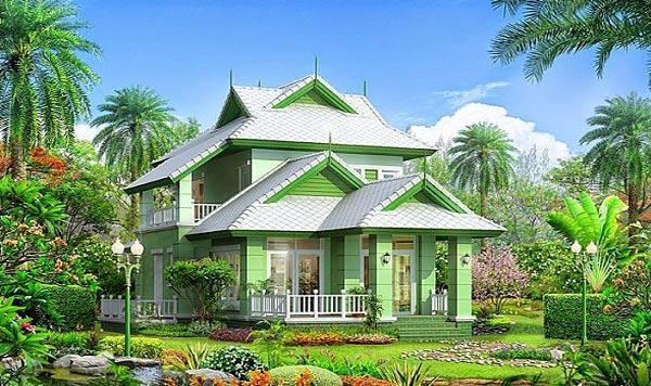 biệt thự nhà vườn