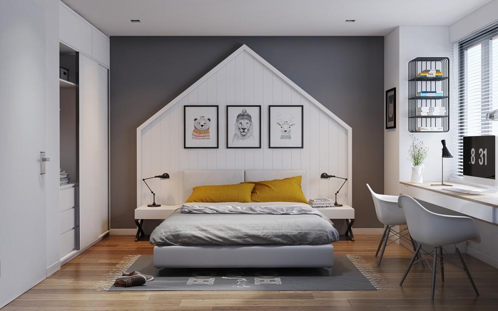 Sơn mới căn phòng sẽ tạo cảm giác mới mẻ, khác biệt hơn