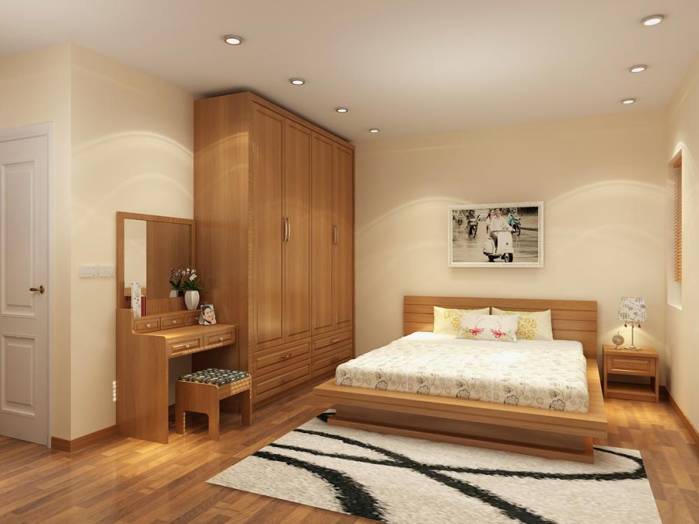 Phào chân tường giúp cho phòng ngủ vừa tăng tính thẩm mỹ vừa đảm bảo an toàn