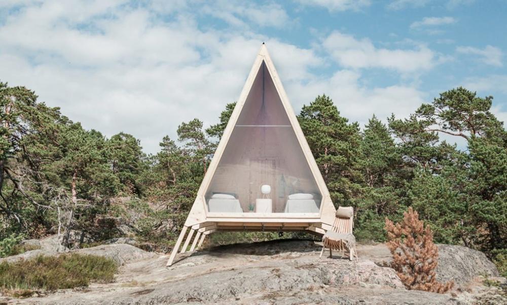 Cabin độc đáo được thiết kế bởi Robin Falck