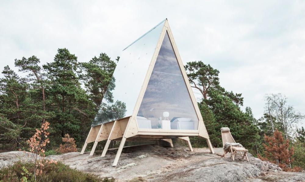 Cabin Nolla là công trình kiến trúc thân thiện với môi trường