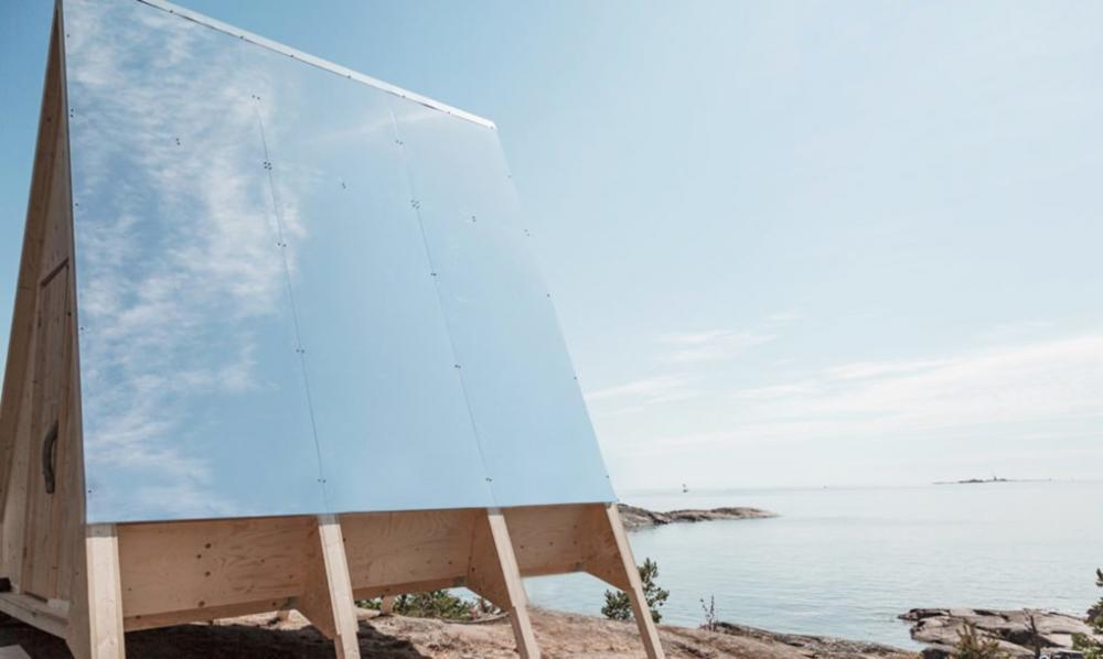 Cabin chạy bằng hệ thống năng lượng mặt trời, không gây độc hại cho môi trường