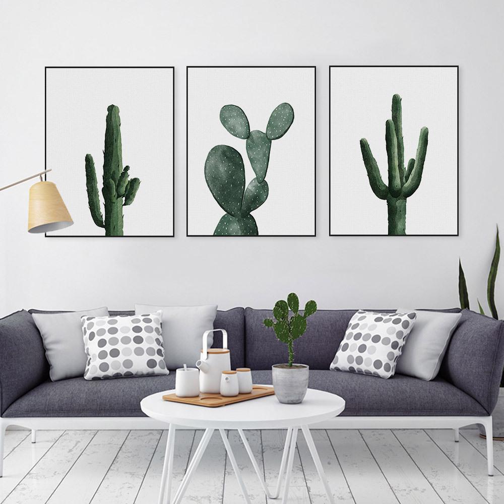 Tranh canvas tạo điểm nhấn hiệu quả cho bức tường