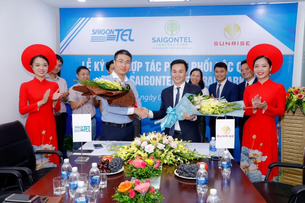 dự án Saigontel Central Park