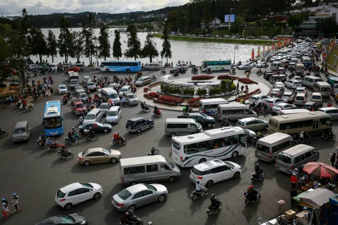 dự án bãi đỗ xe