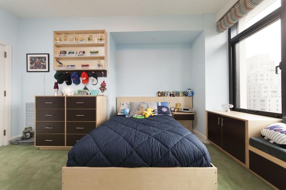 Sử dụng nội thất gỗ cho phòng của trẻ mệnh Mộc là rất phù hợp