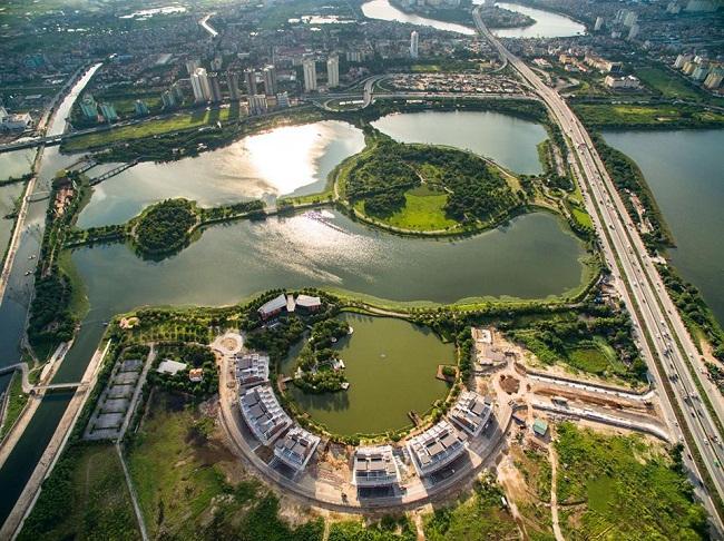 đô thị ven hồ Yên Sở