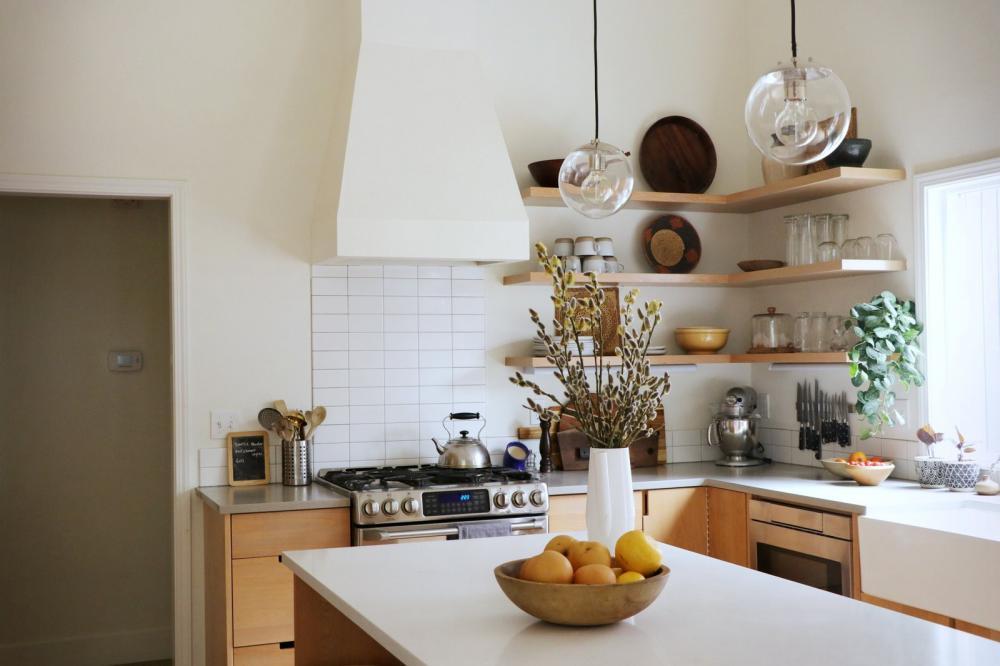 bếp theo phong cách Scandavina