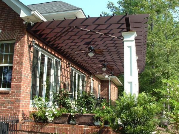 Gợi ý thiết kế mái che phù hợp cho ngôi nhà