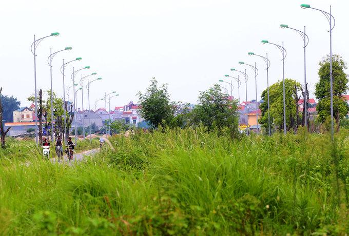 khu đô thị bỏ hoang