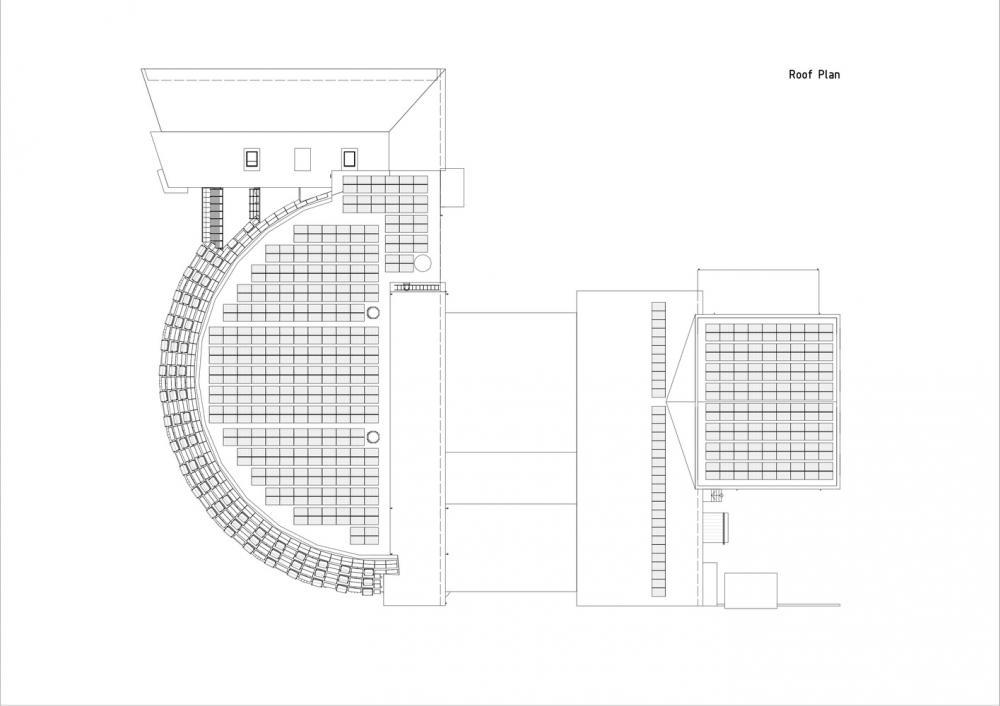 Hệ thống thiết kế mái tòa nhà Paf