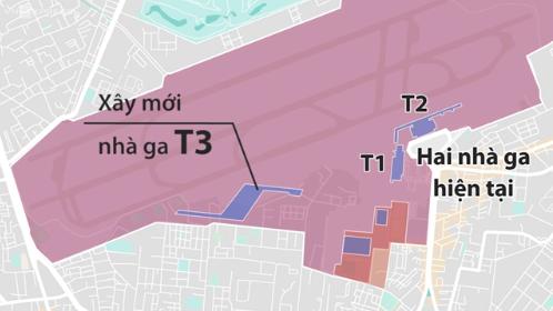 Quy hoạch mở rộng sân bay TSN sẽ được công bố vào tháng 9