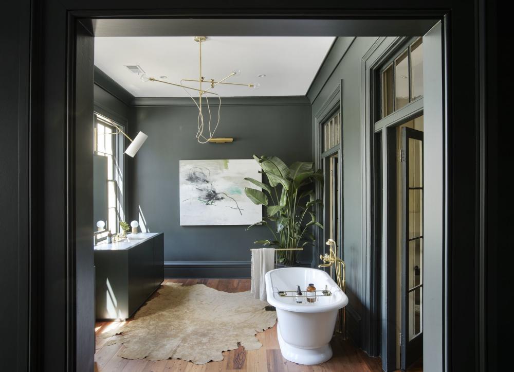 Phòng tắm phảng phất chất nghệ thuật luôn là ý tưởng không tồi