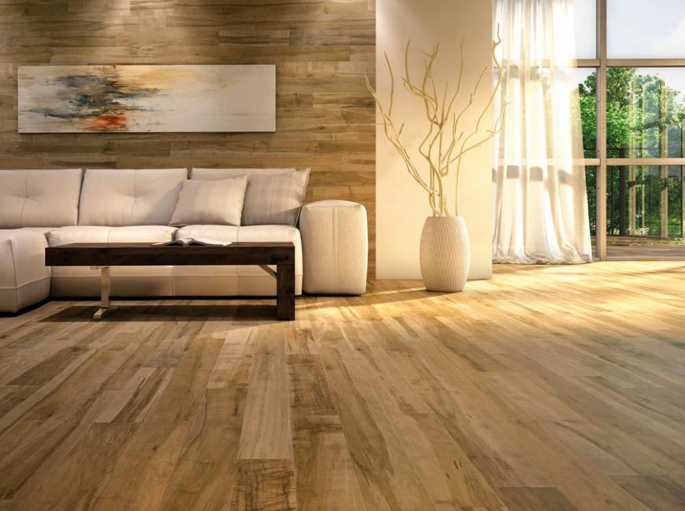 Sàn gỗ có khả năng giúp ngôi nhà mát về mùa hè, ấm về mùa đông