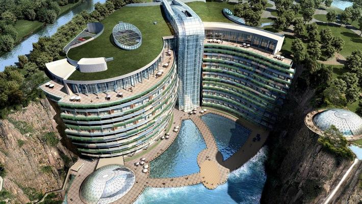 khách sạn 18 tầng dưới lòng đất