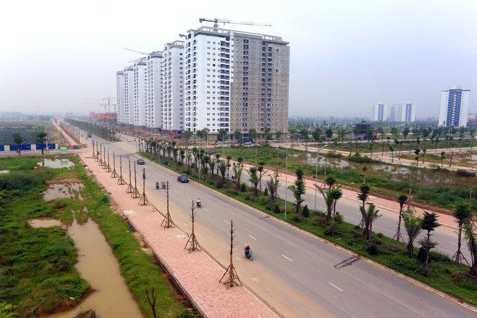 đường trục phía Nam Hà Nội