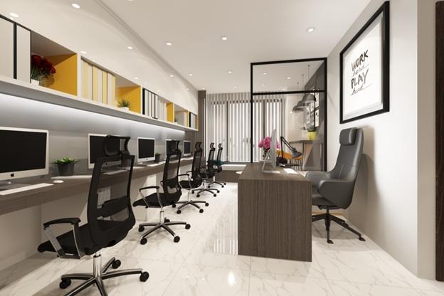 nhu cầu thuê văn phòng lớn