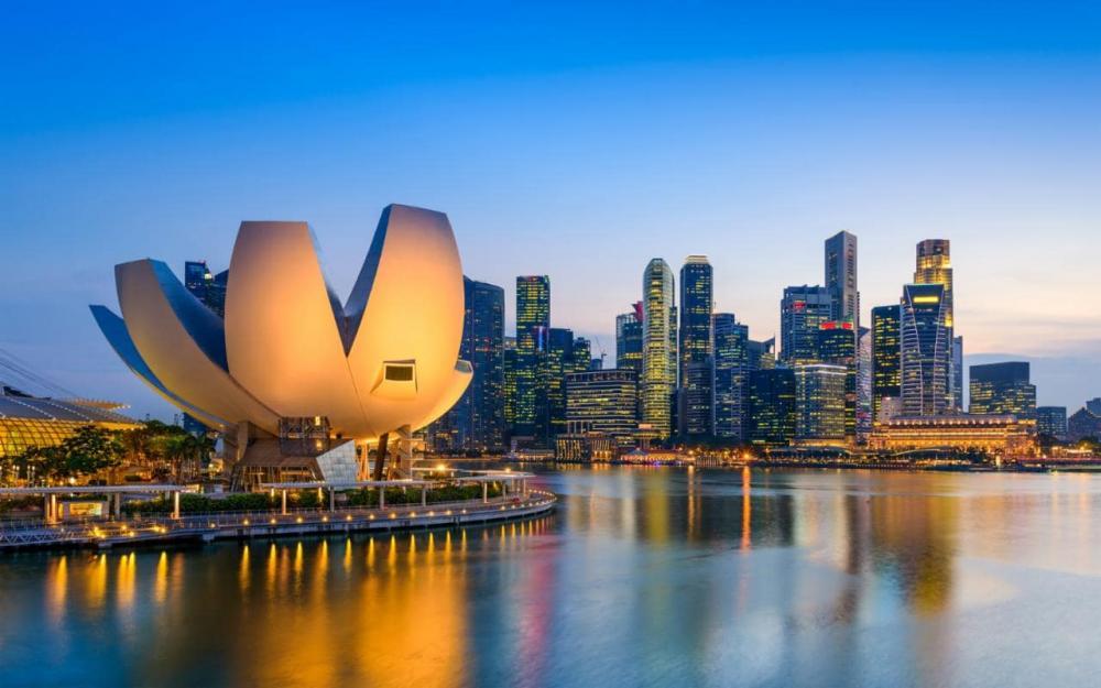 Singapore nổi tiếng với những không gian xanh nhân tạo