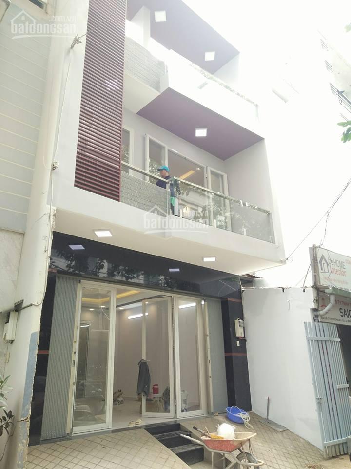Cho thuê nhà 3 tầng mới xây 100% hẻm 71/ đường d1 khu căn hộ wilton, hẻm xe tải 60m2, giá 30tr/th