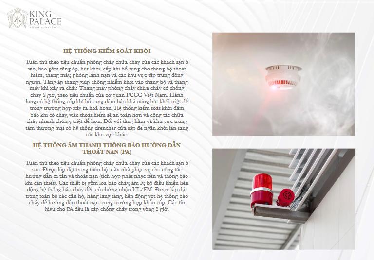Hệ thống kiểm soát khói