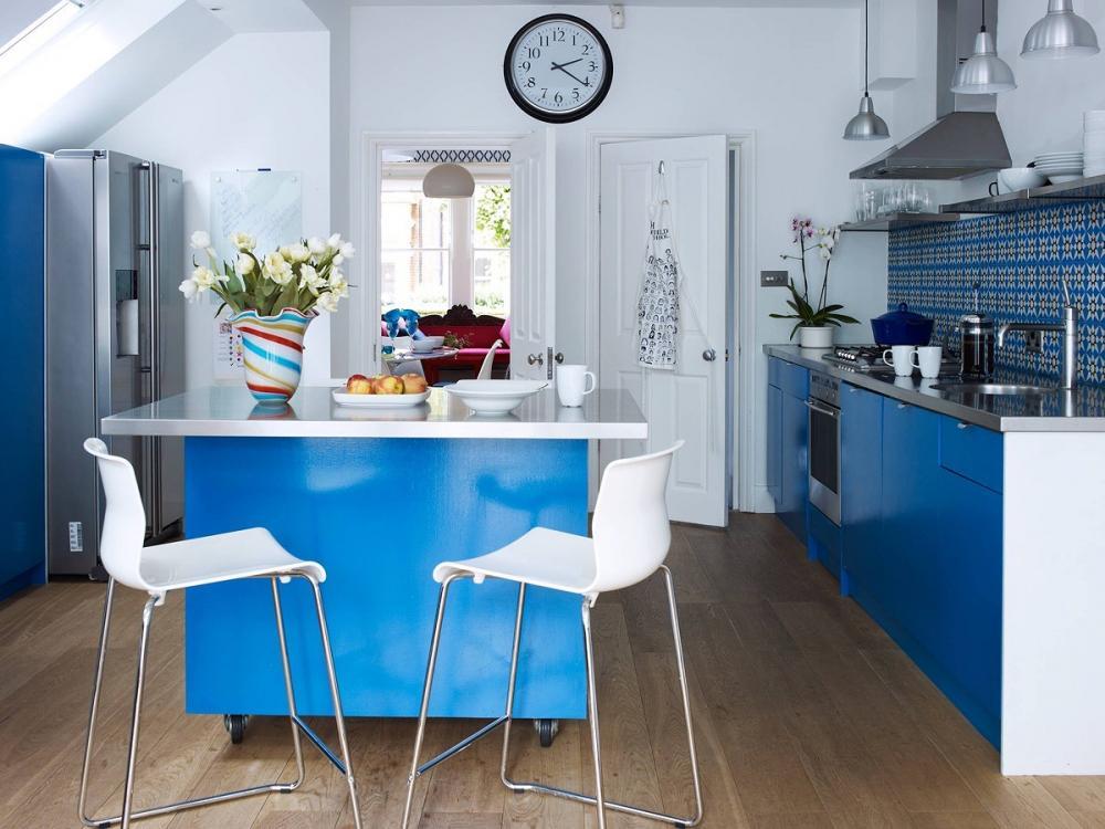 phòng bếp có diện tích nhỏ