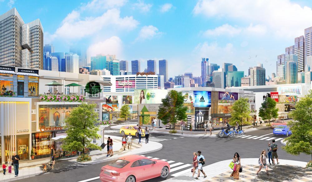 dự án Central Mall Long Thành