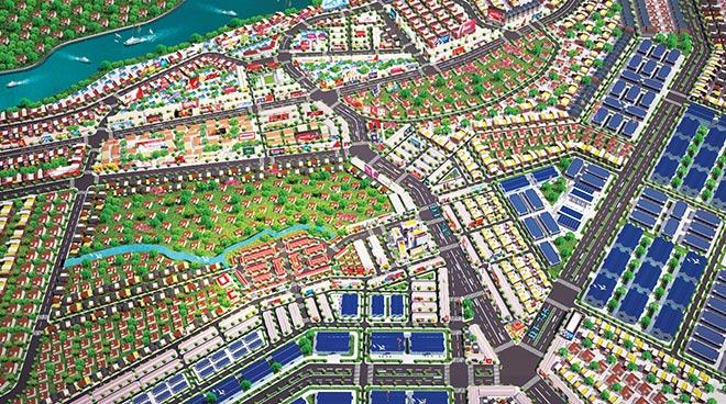 Quy hoạch khu đô thị New Town 8
