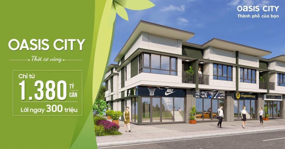 Nhà liên kế phố (shophouse) dự án Oasis City
