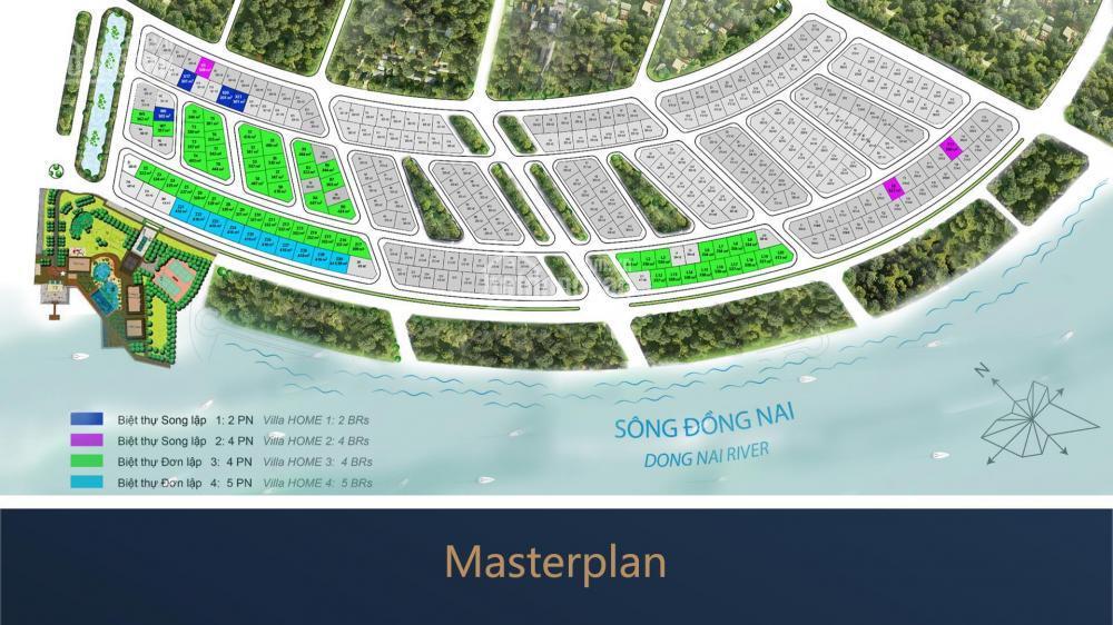 Swan Bay Zone 5 - Chênh lệch 100 triệu - Biệt thự đơn lập vườn
