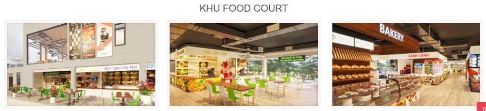 Khu food court