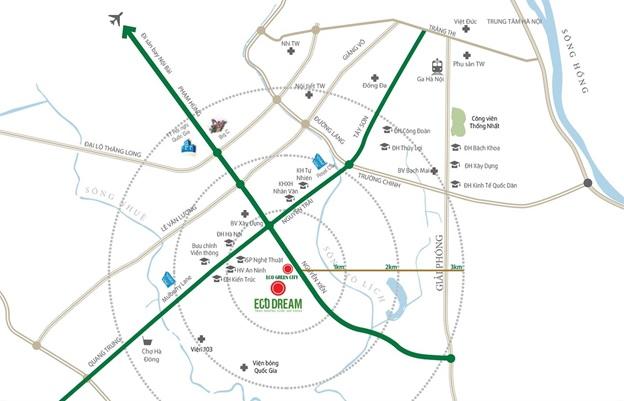 BĐS khu Tây Nam Kim Giang hưởng lợi từ hạ tầng giao thông phát triển