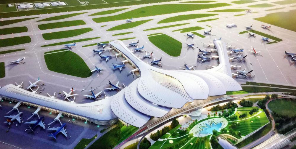 Thiết kế sân bay quốc tế Long Thành