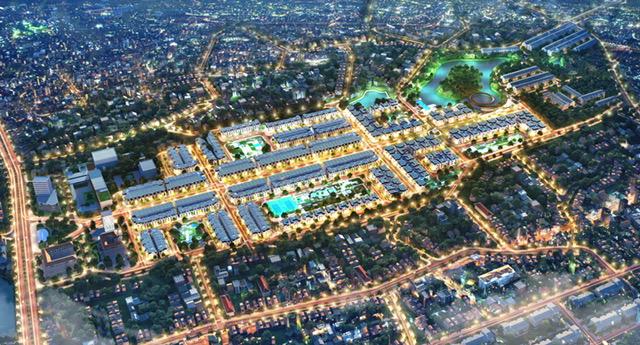 Dự án Crown Villas tại Thái Nguyên