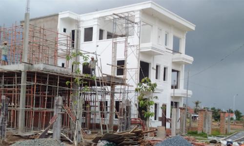 xây nhà to