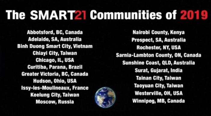 thành phố thông minh trên thế giới