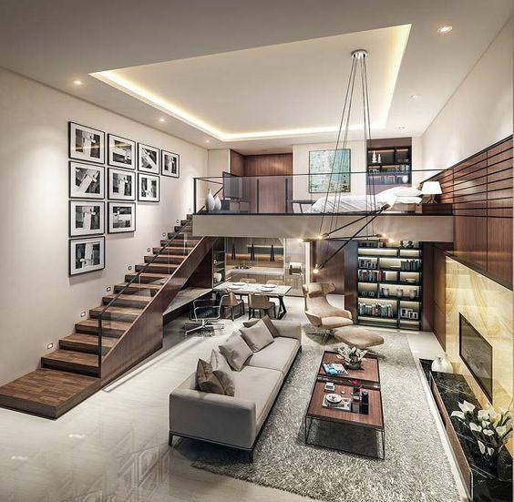 Thiết kế cầu thang dài