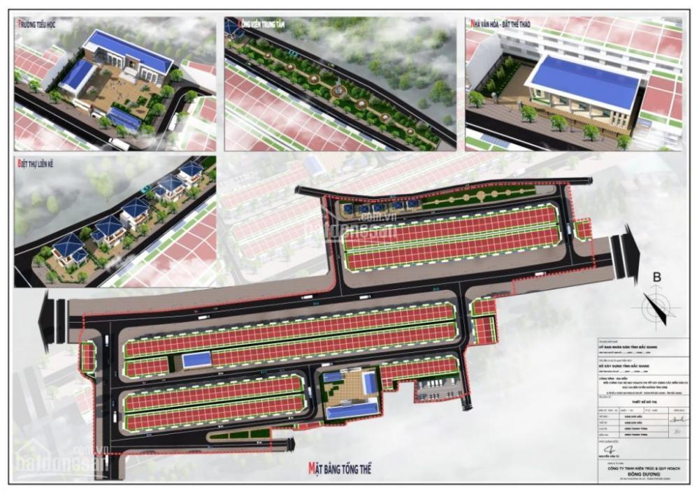 Bán đất dự án 379 Tân Mỹ, thành phố Bắc Giang giáp chợ Mía buôn bán sầm  uất, giá gốc chủ đầu tư