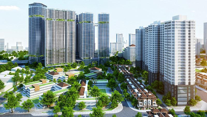 chung cư tại Hà Nội và Tp.HCM