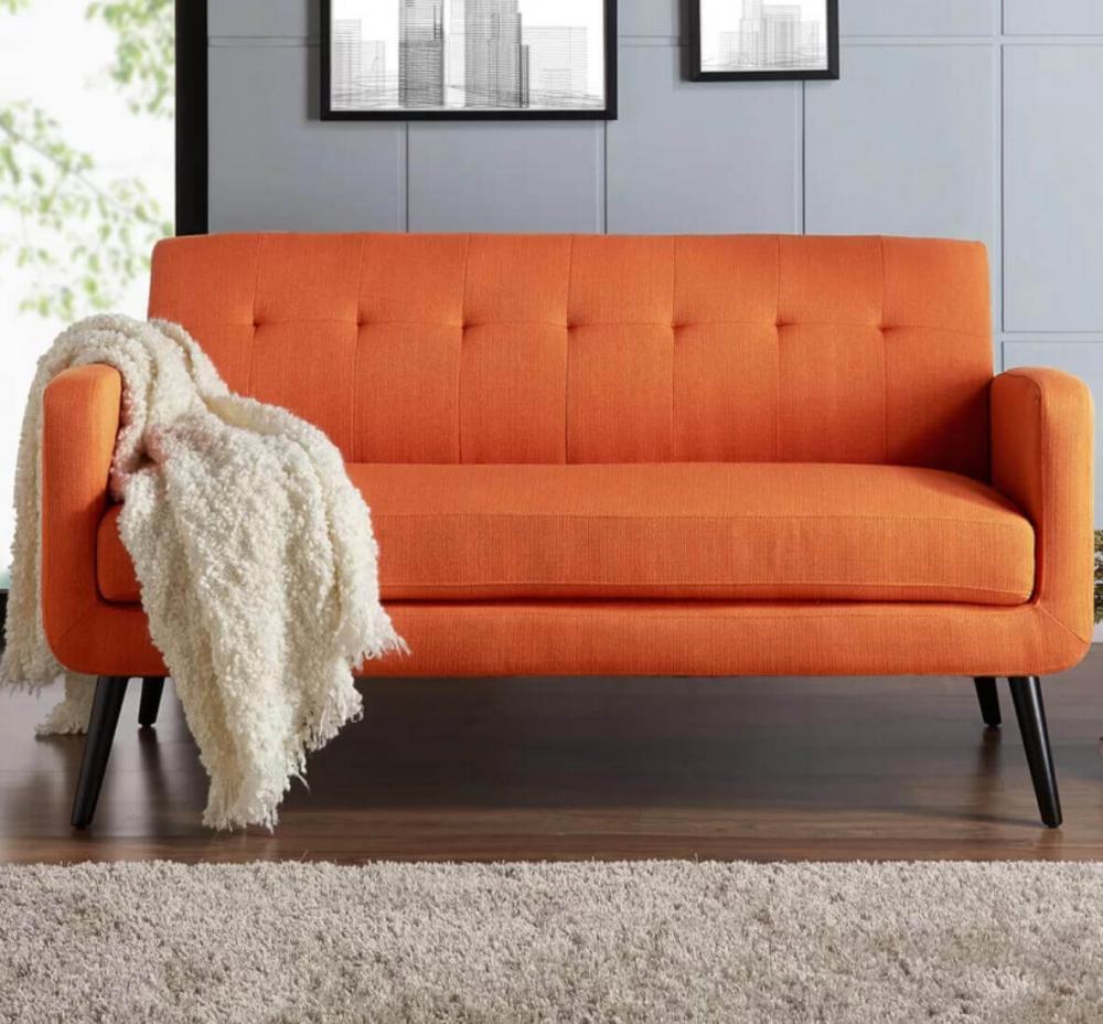 Làm mới không gian sống với màu cam san hô