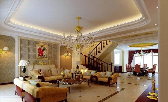 Thiết kế phòng khách trong biệt thự nhà vườn
